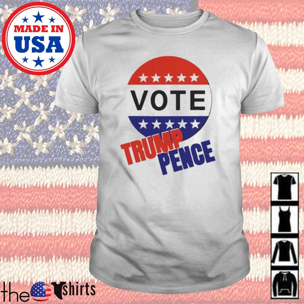 Vote Trump pence American flag shirt