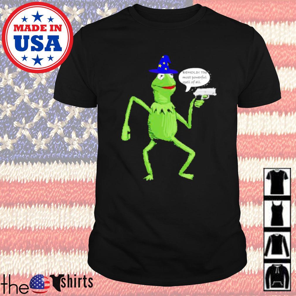 Yer a wizard Kermit shirt