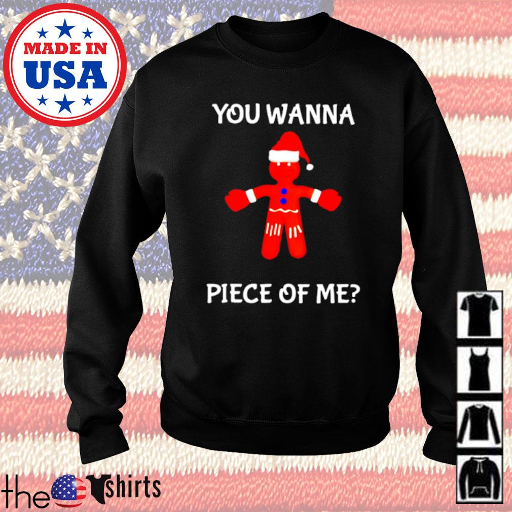 Boxing Gingerbread you wanna piece of me Christmas sweater