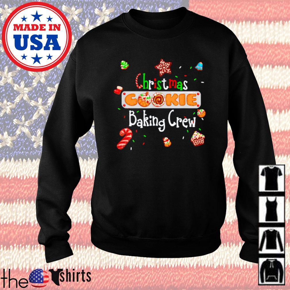 Christmas cookie baking crew sweater