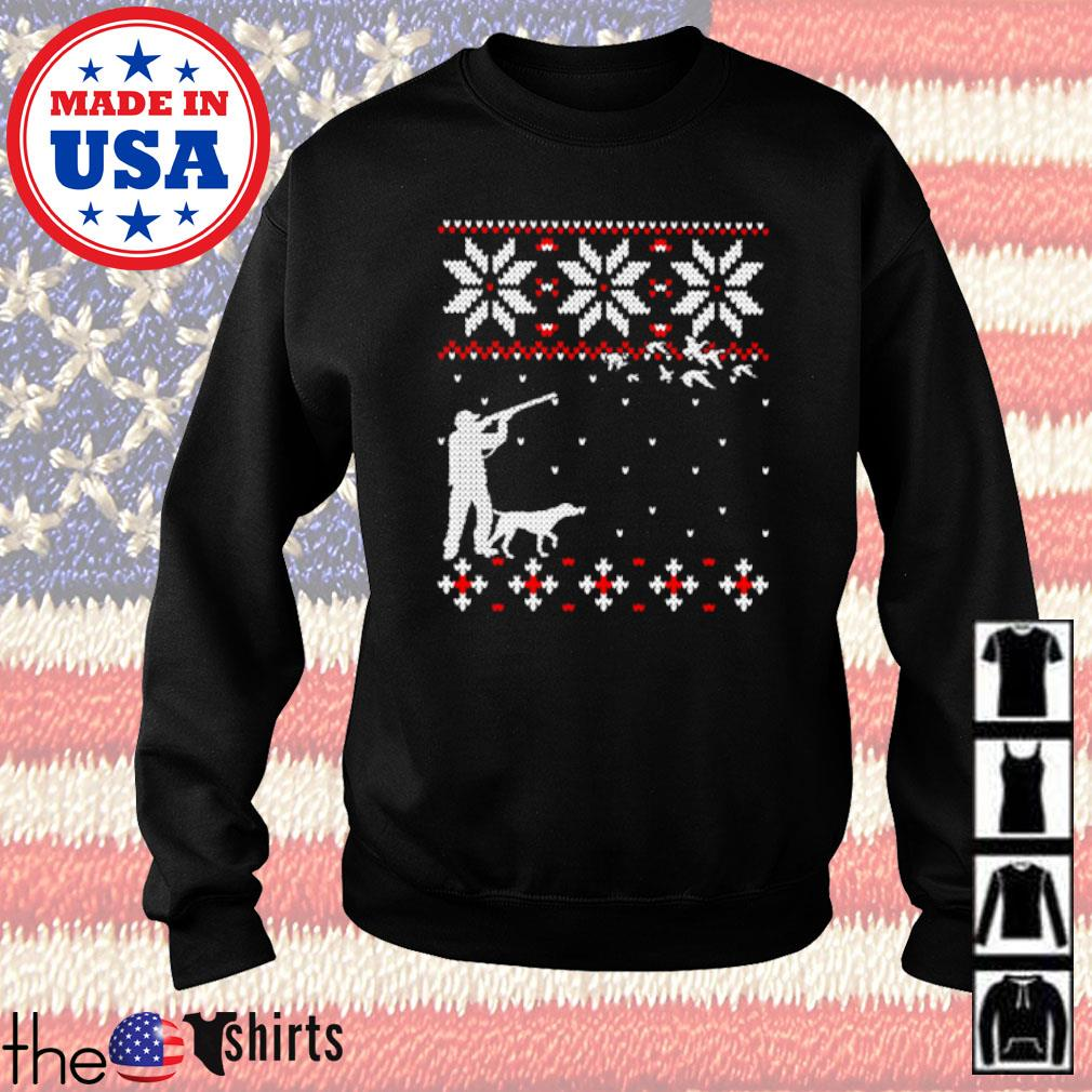 Duck hunting ugly Christmas sweater