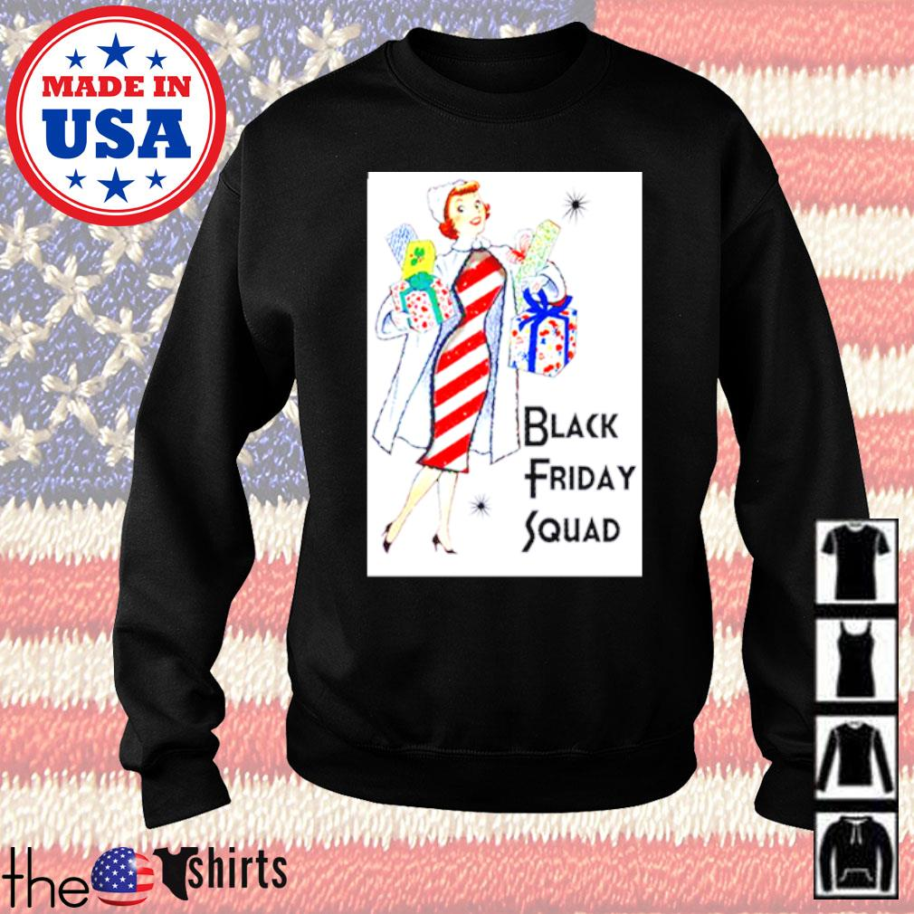 Girl black Friday squad Christmas sweater