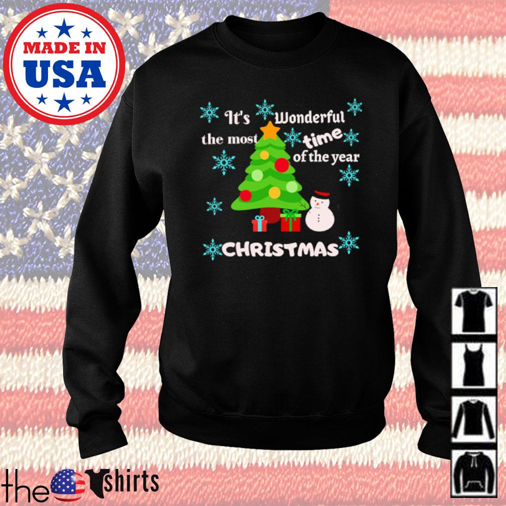 It's wonderful the most time of the year Christmas sweater