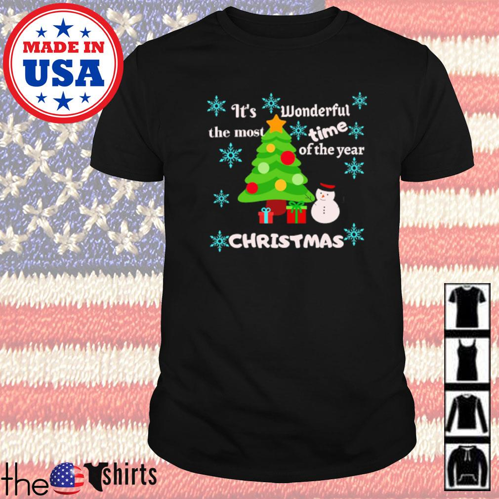 It's wonderful the most time of the year Christmas sweater shirt