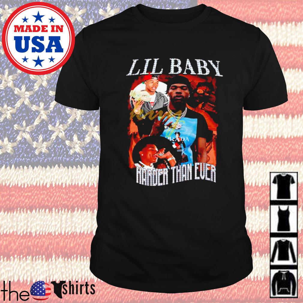 Lil baby harder than ever 90s Bootleg shirt