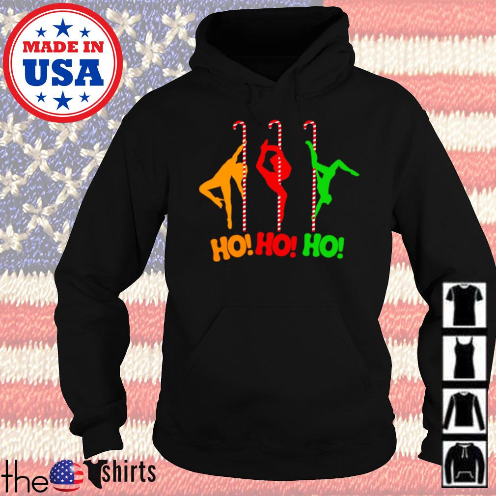 Pole dancing workout and stripper Christmas sweater Hoodie