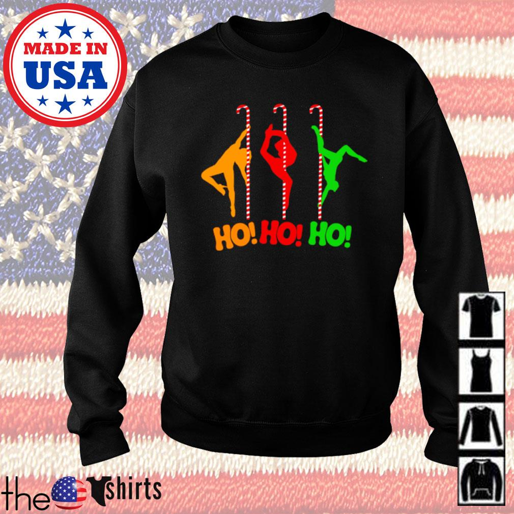 Pole dancing workout and stripper Christmas sweater