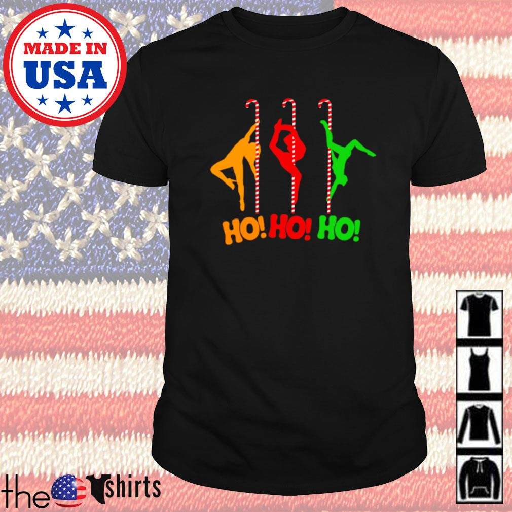 Pole dancing workout and stripper Christmas sweater shirt