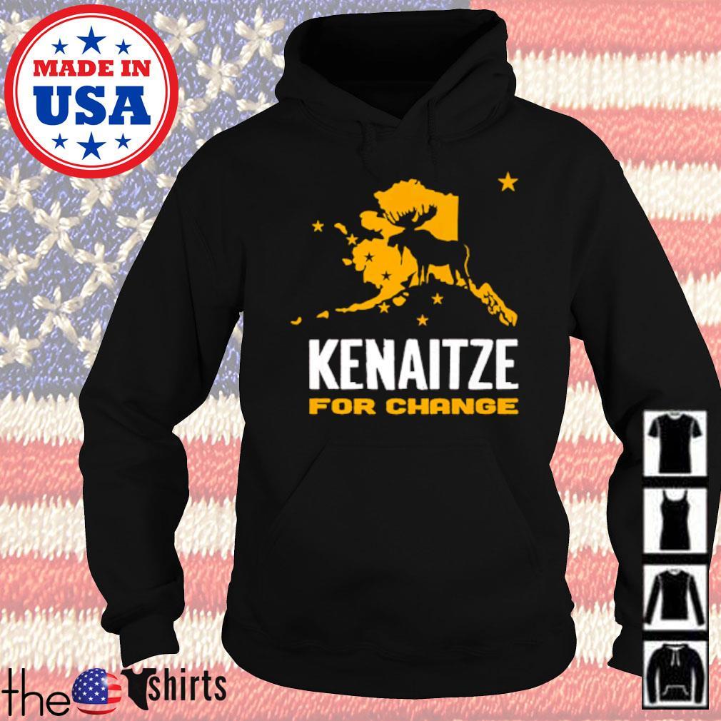 Reindeer Kenaitze for change Christmas sweater Hoodie