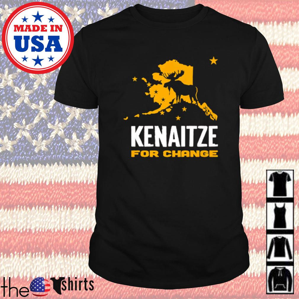 Reindeer Kenaitze for change Christmas sweater shirt