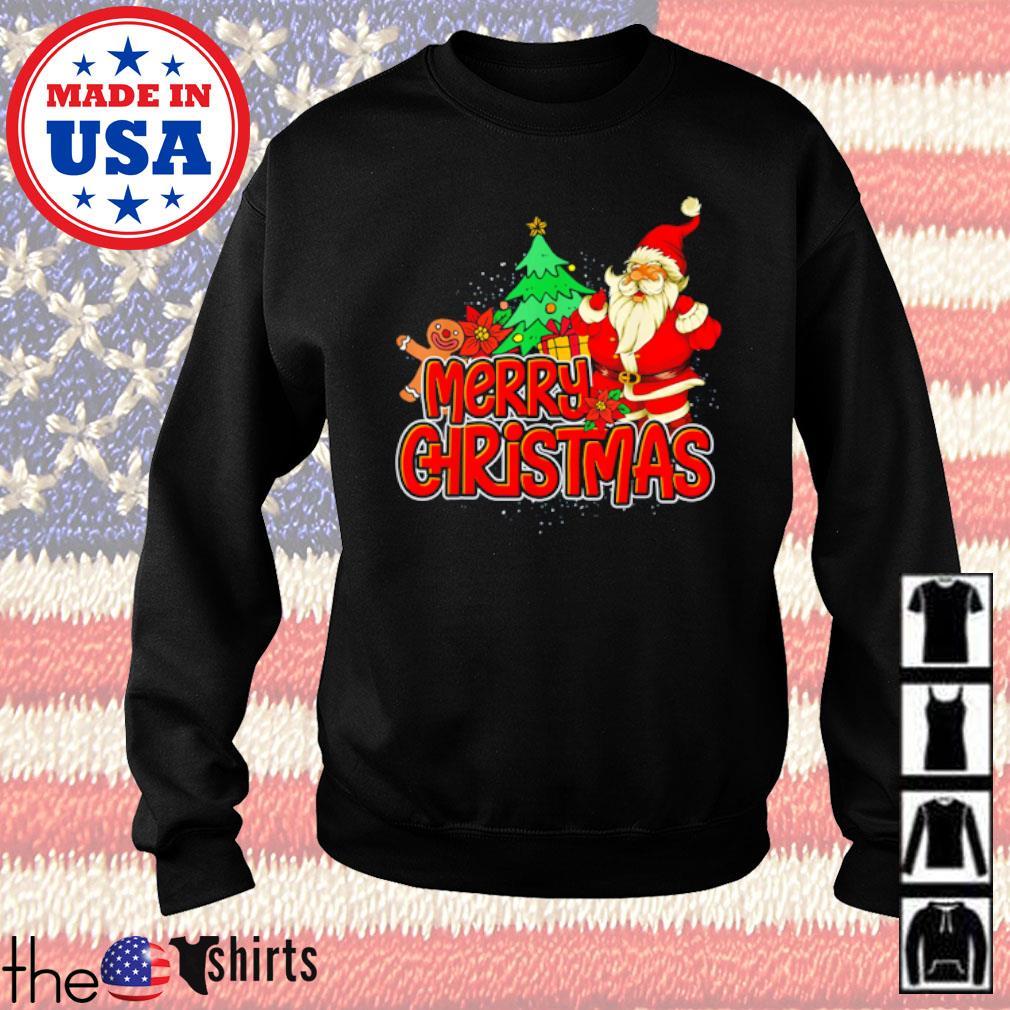 Santa Claus merry Giristmas Christmas sweater