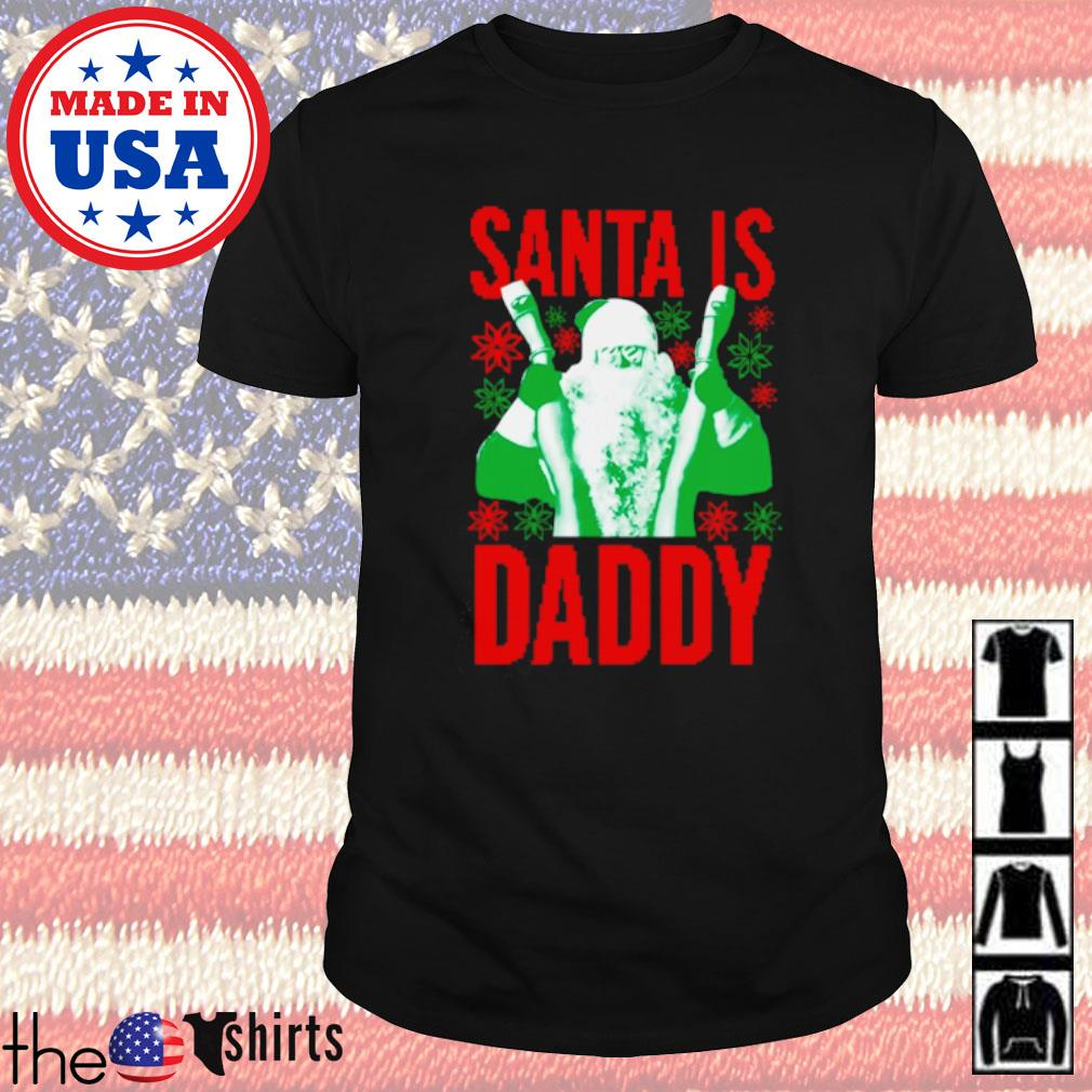 Santa is daddy ugly Christmas sweater shirt