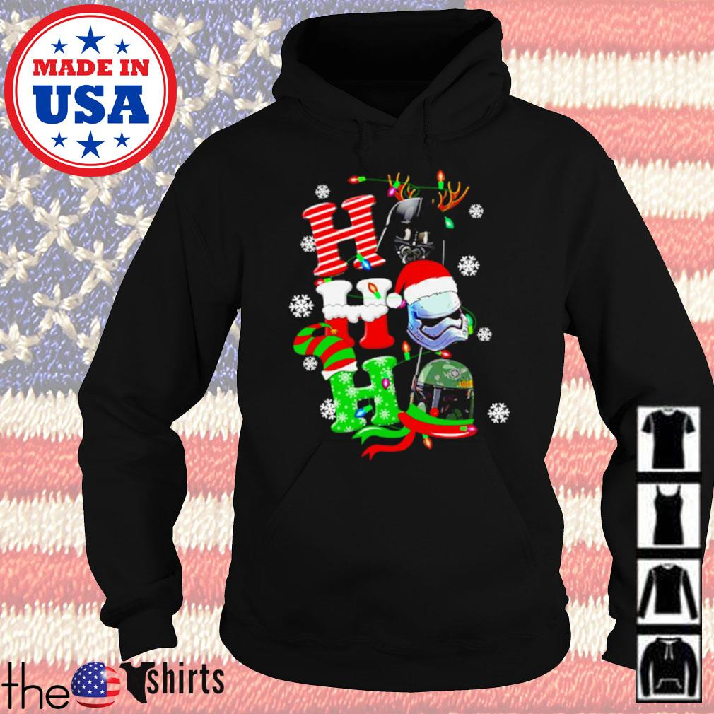 Star Wars Darth Vader Stormtrooper Ho Ho Ho Christmas sweater Hoodie