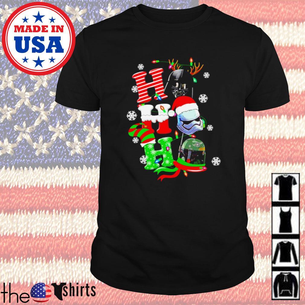 Star Wars Darth Vader Stormtrooper Ho Ho Ho Christmas sweater shirt