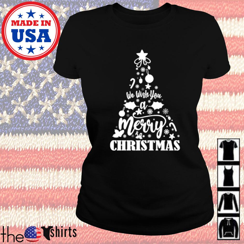 We wish you a merry Christmas sweater Ladies tee