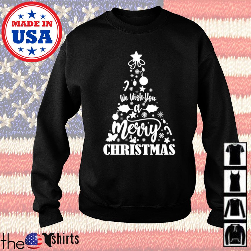 We wish you a merry Christmas sweater