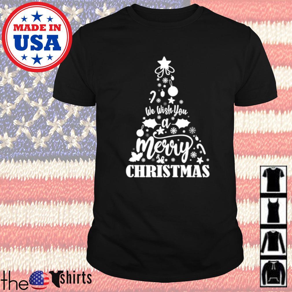 We wish you a merry Christmas sweater shirt