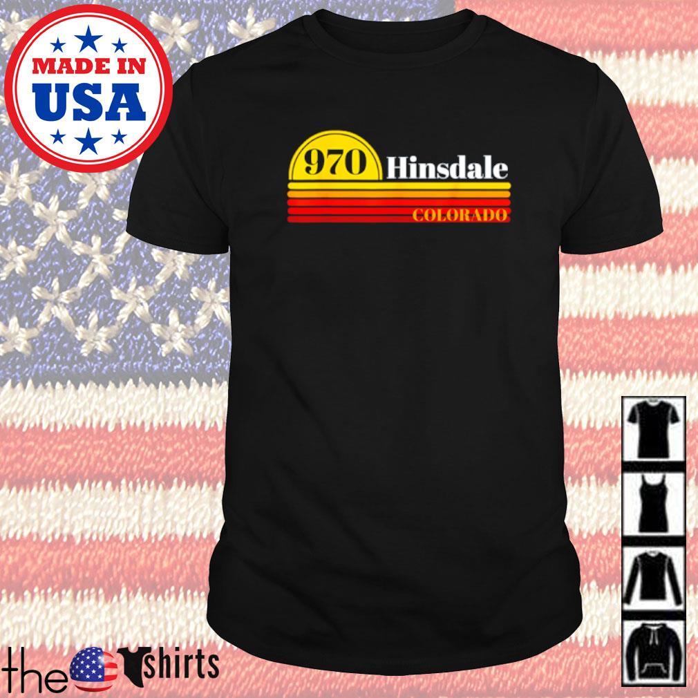 970 Hinsdale colorado vintage shirt
