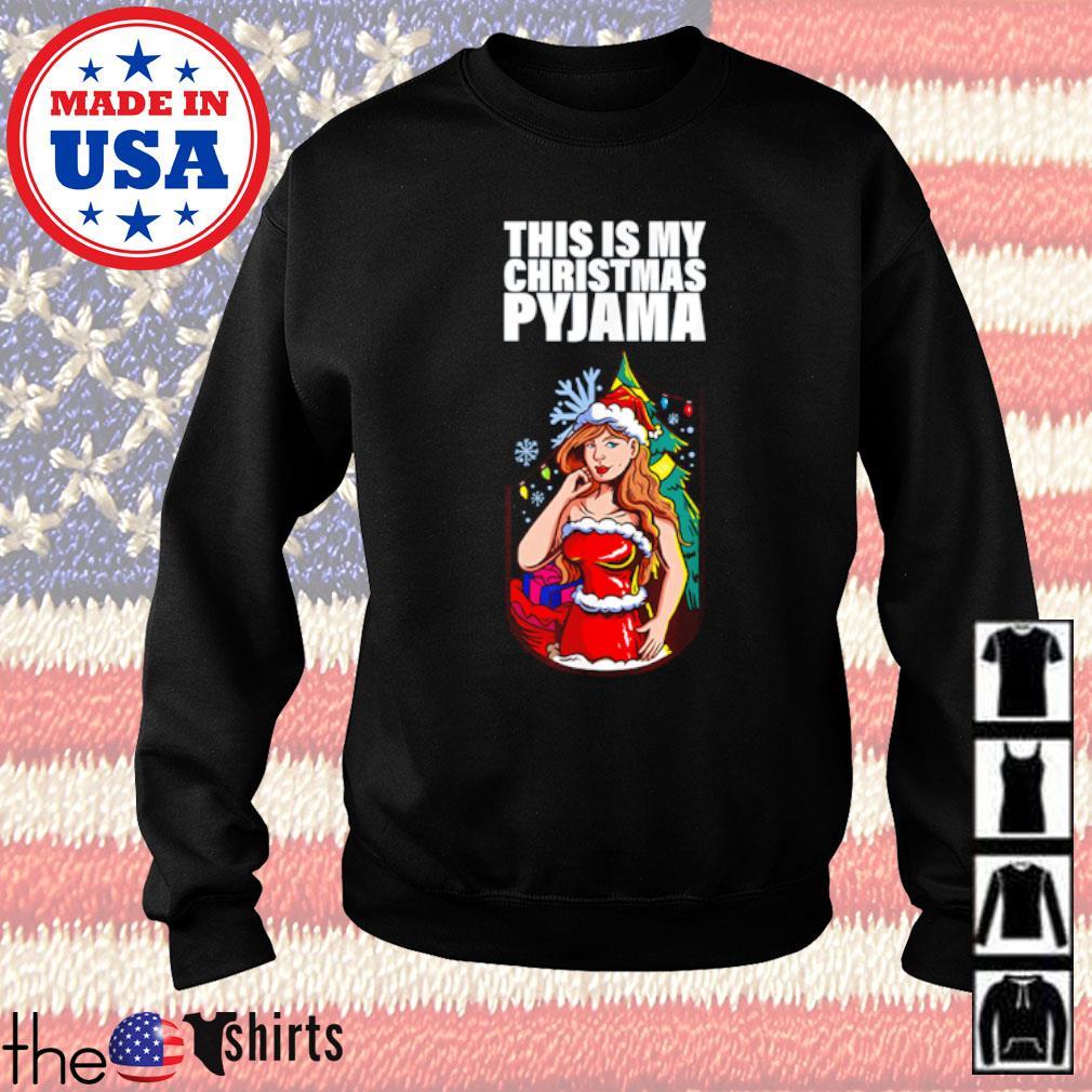 This is my Christmas Pyjama sweater