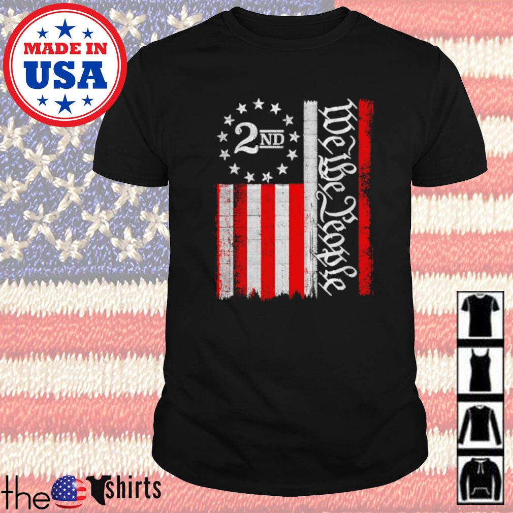 2Nd we the people American flag shirt