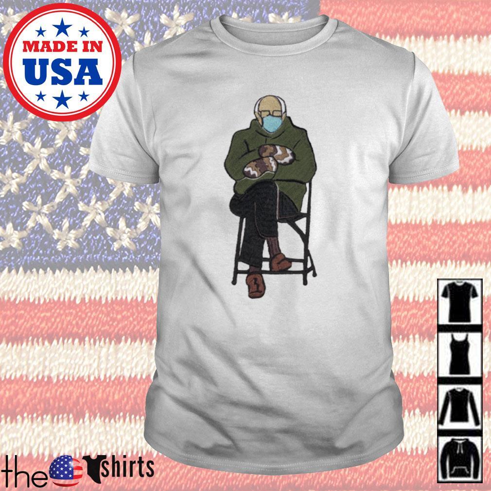 Bernie Sanders Inauguration 2021 Custom Embroidery shirt