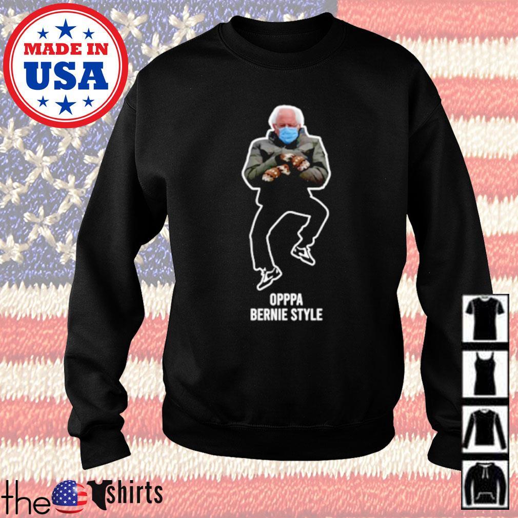 Bernie Sanders Oppa Bernie style 2021 s Sweater
