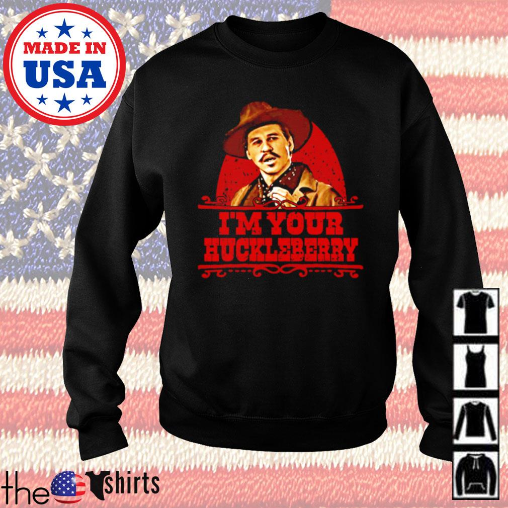 Doc Holiday I'm your huckleberry s Sweater