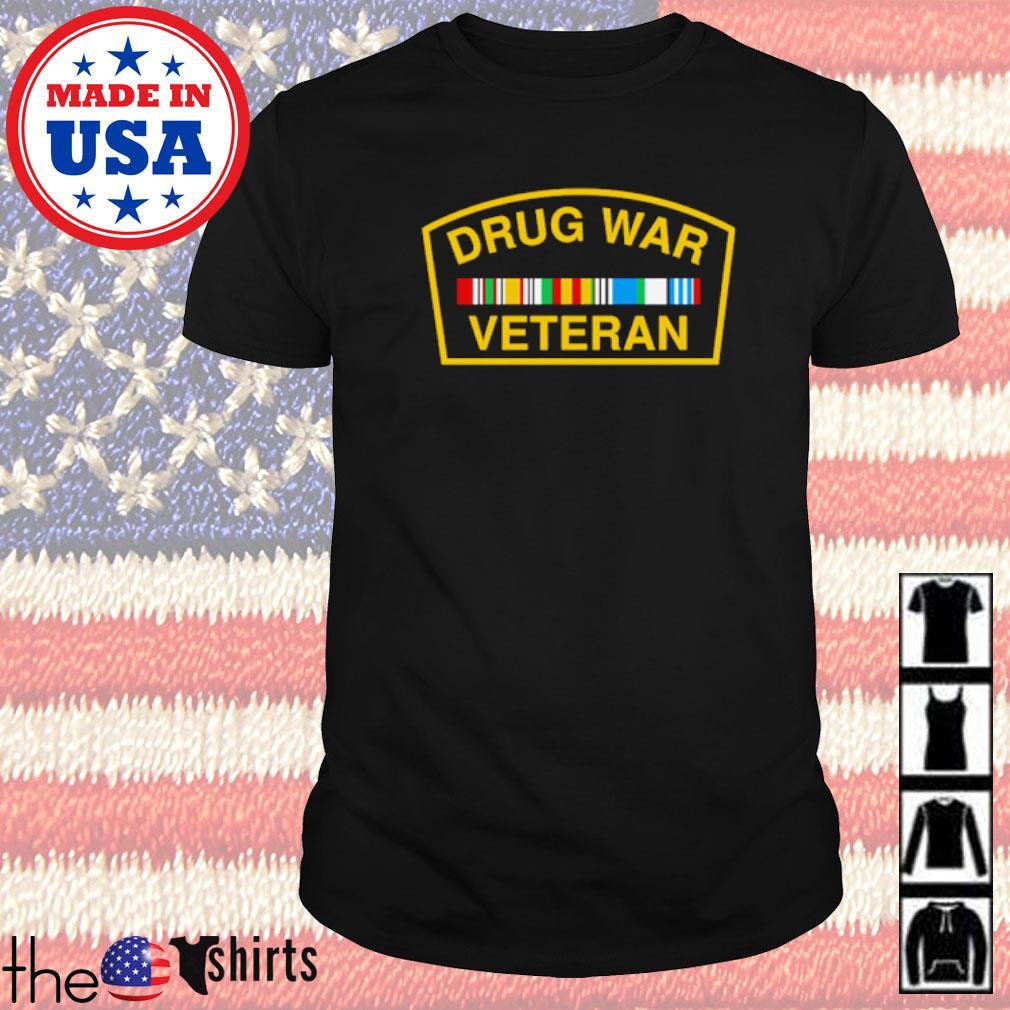 Drug war veteran shirt