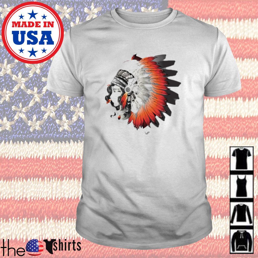 Girl Chief native American shirt