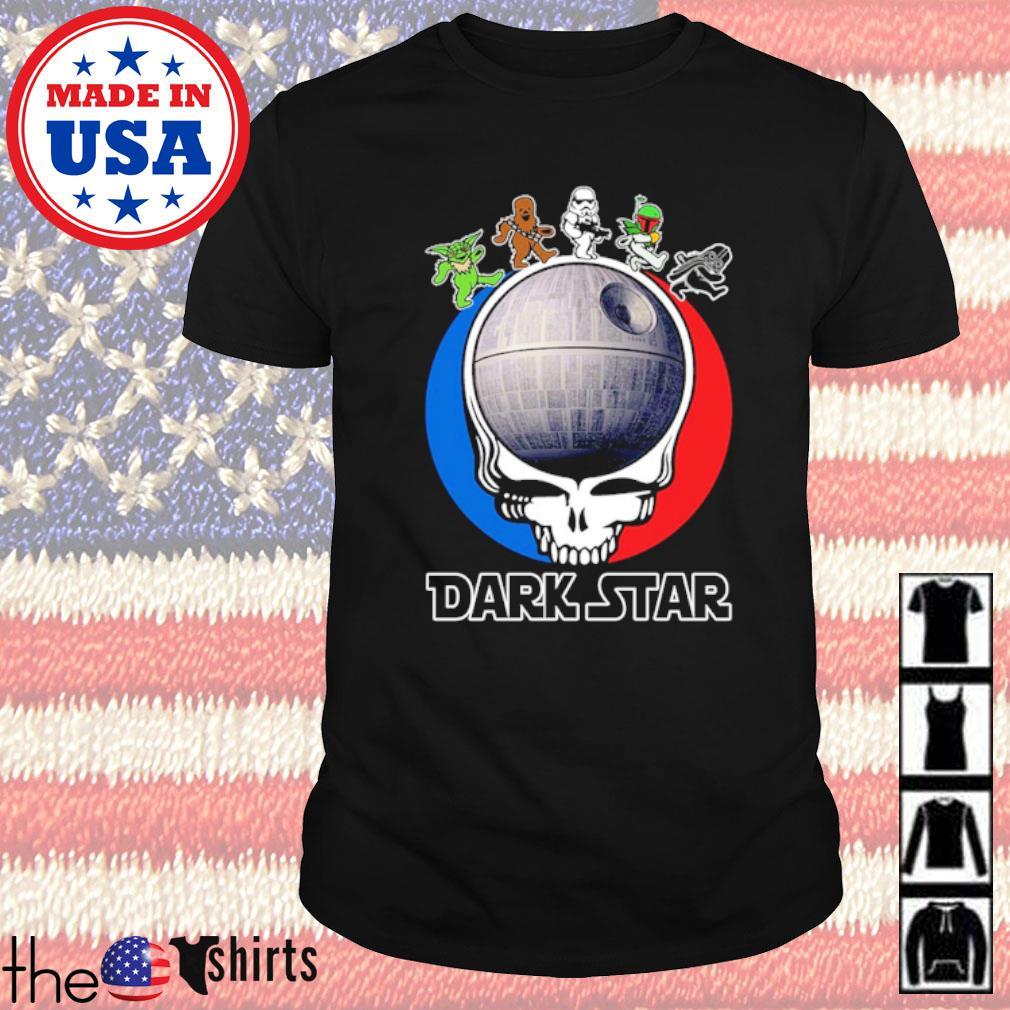 Grateful Dead dark star bear skull shirt