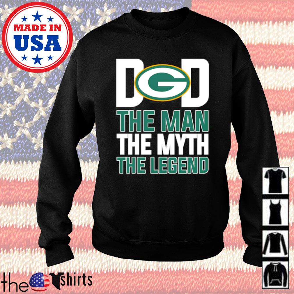 Green Bay Packers dad the man the myth the legend s Sweater