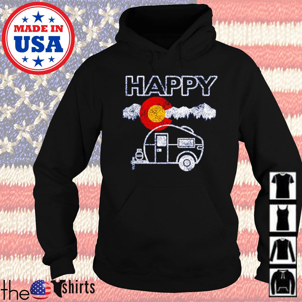 Happy Colorado camper relaxed s Hoodie