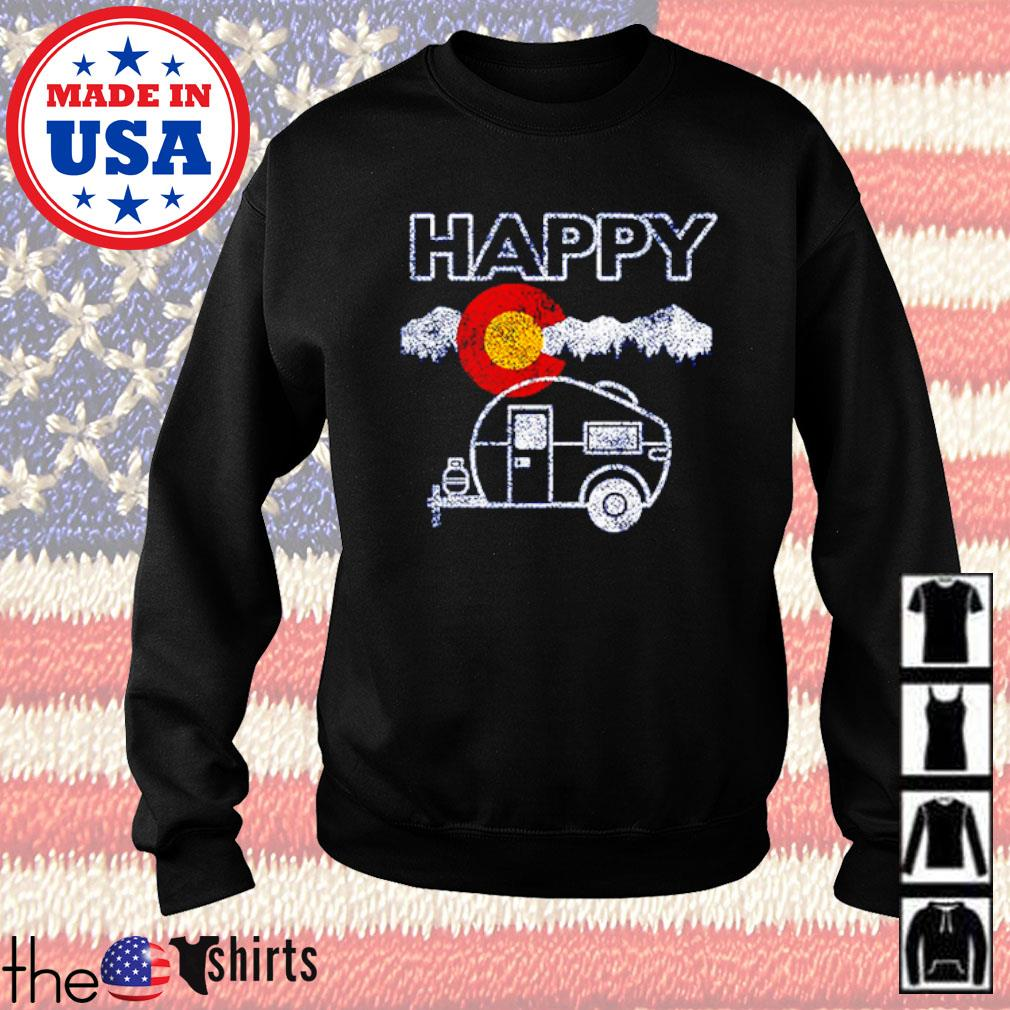 Happy Colorado camper relaxed s Sweater