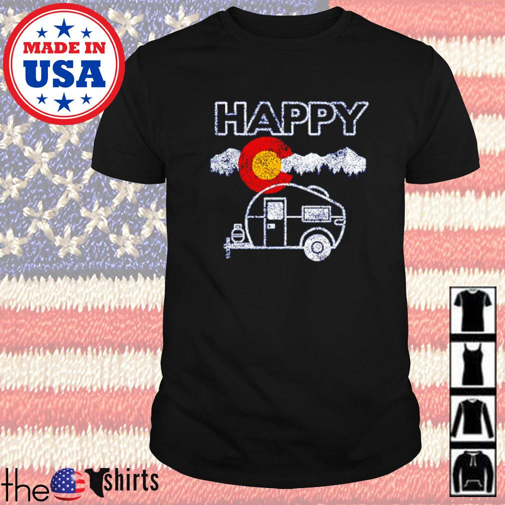 Happy Colorado camper relaxed shirt