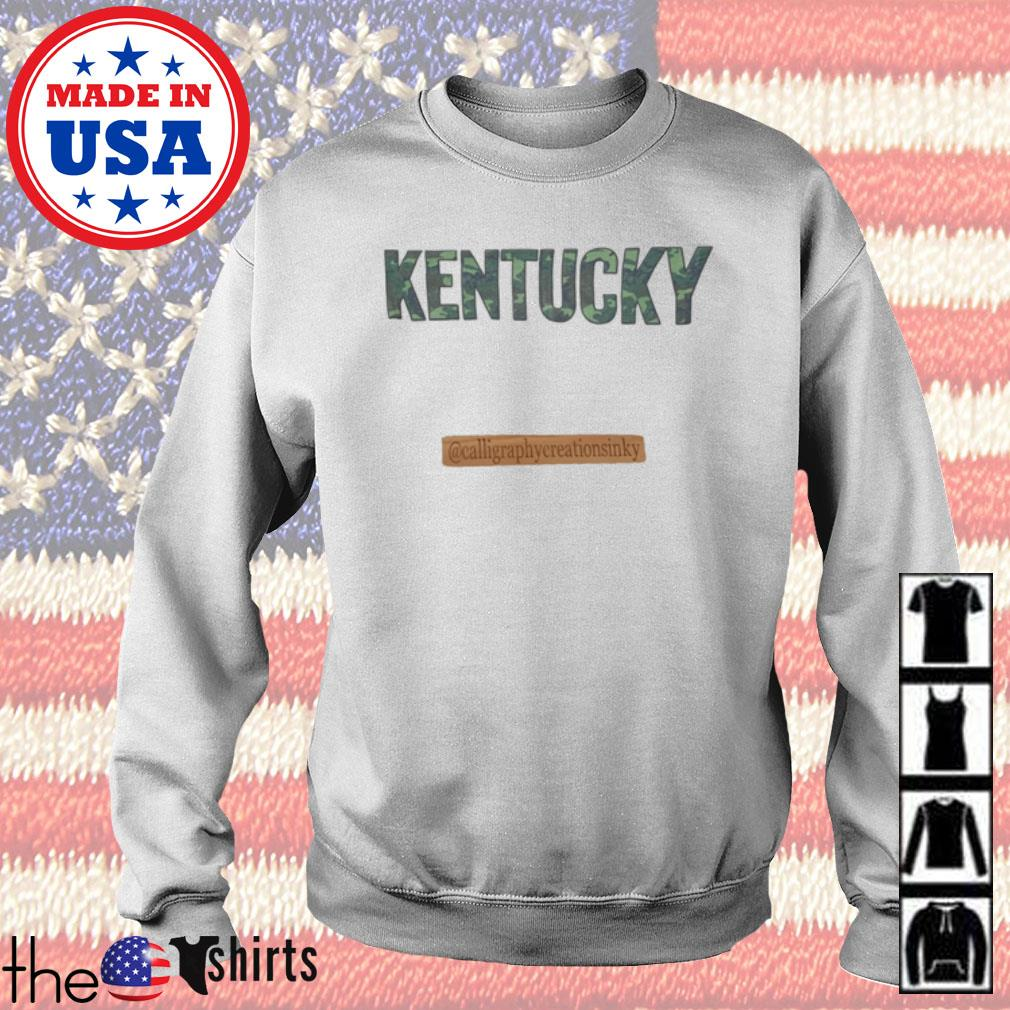 Kentucky calligraphy creations in ky s Sweater