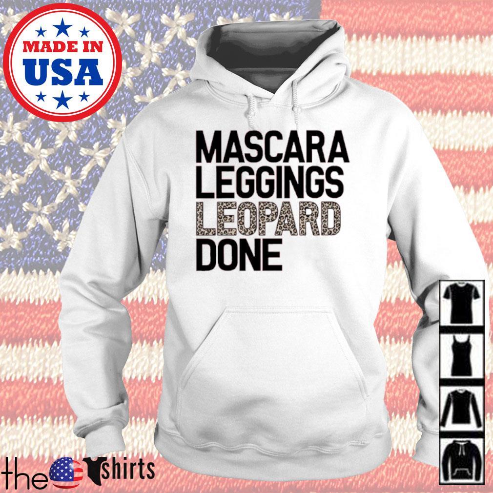Mascara leggings leopard done s Hoodie