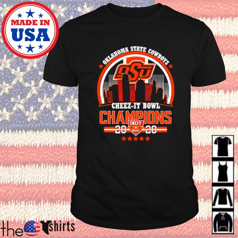 Oklahoma State Cowboys Cheez-it bowl Champions 2020 shirt