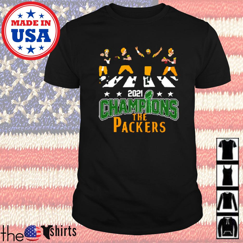 2021 Champions the Packers shirt