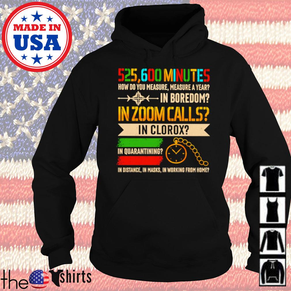 525600 Minutes how do you measure in zoom calls in clorox in quarantining s Hoodie