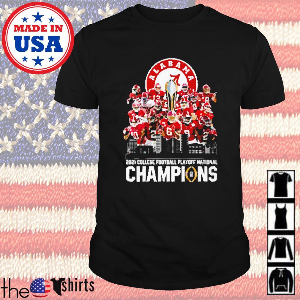 Alabama 2021 college football playoff national champions shirt