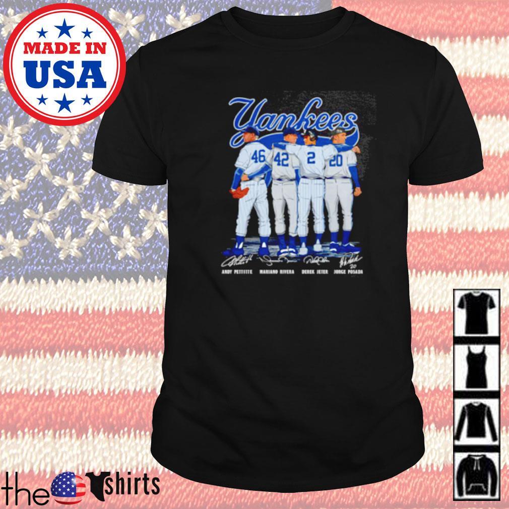 New York Yankees signatures shirt