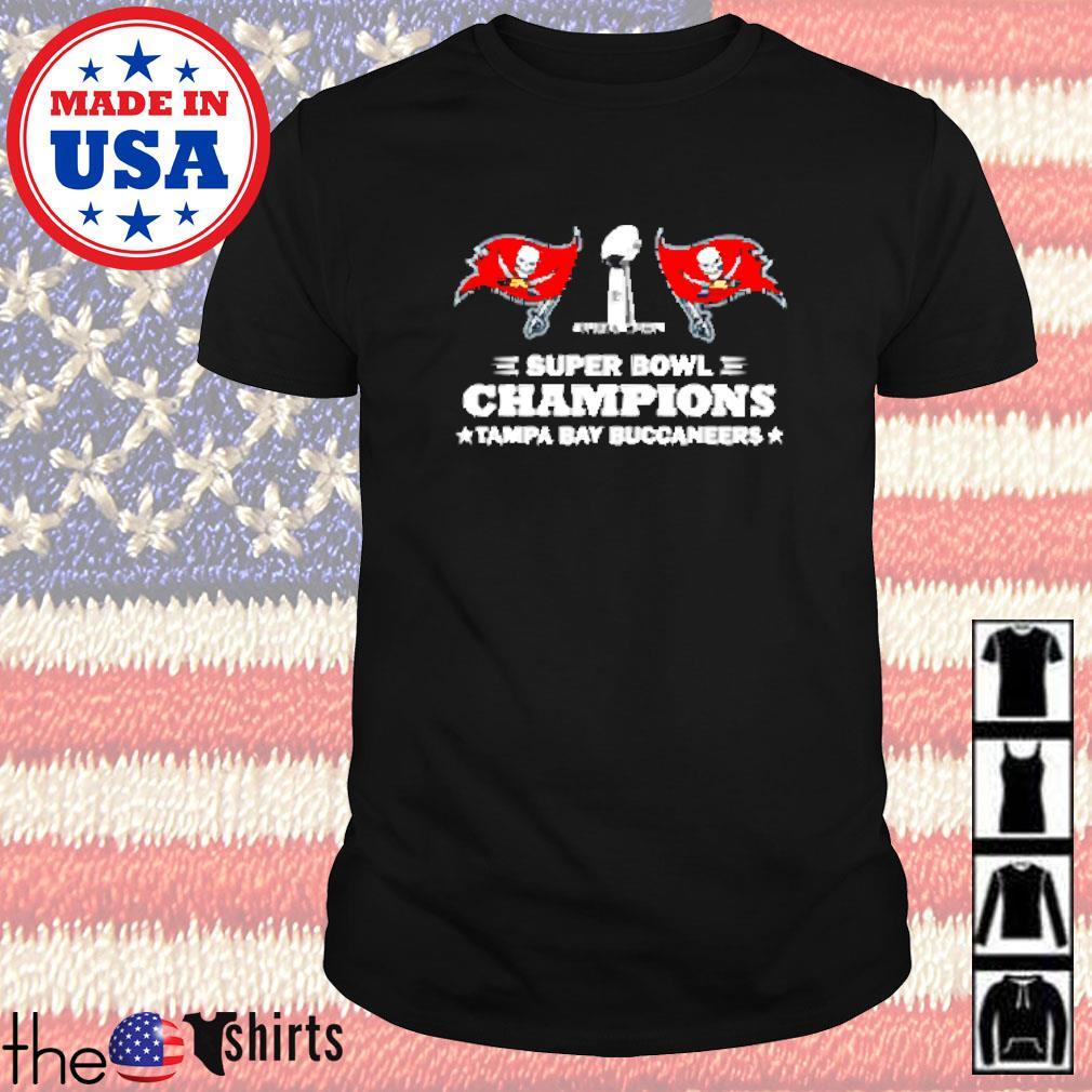 Super bowl champions Tampa Bay Buccaneers shirt