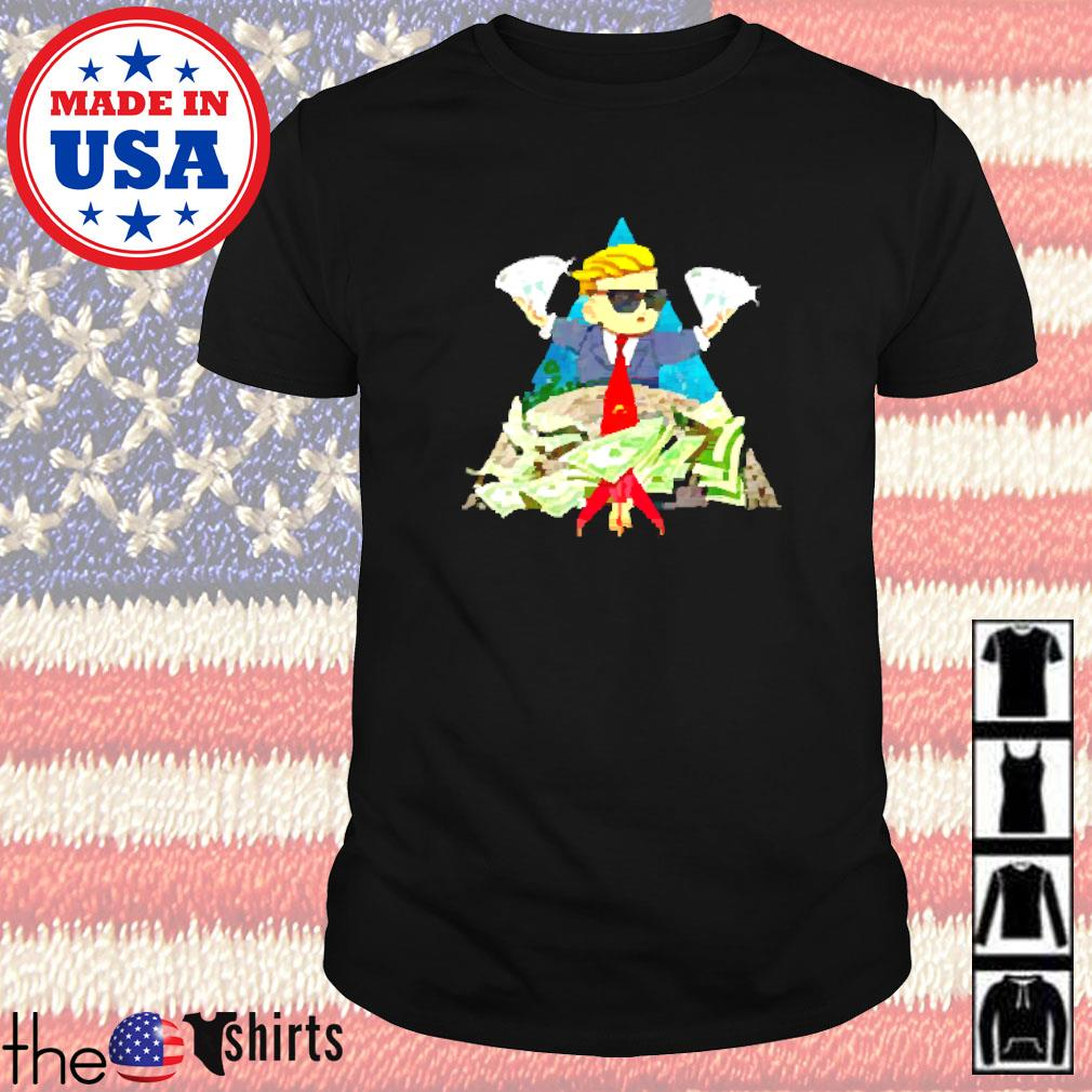 Trump wall street bets to the moon shirt